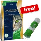 10 kg Sanabelle + Cat Tunnel in Green & White - Free 10 kg Sensitive with Lamb