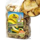 JR Farm Banana Chips - Saver Pack: 4 x 150 g