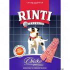 Rinti Extra Chicko Chicken Variations - 4 Pack Chicken (4 x 500g) - Dog Treats & Dog Bones