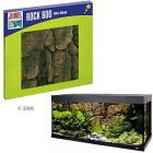 Juwel Motive Background Rock for Aquariums - Rock 450, Size: 45 x 45 x 5 cm - Aquatic Supplies