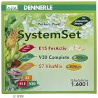 Dennerle Perfect Plant System Set - Fertilization Set for 1.600 Liters - Aquatic Supplies
