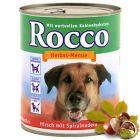 Rocco Autumn Menu 6 x 800 g (Special Edition!) - Venison with Fusilli