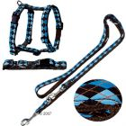 Hunter Lead & Collar & Harness Set Krazy Scotty Vario Basic - Size L