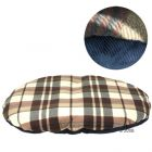 Tartan Dog Cushion - 110 x 80 x 7 cm (L x W x H)