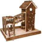 Trixie Birger Playhouse from Natural Wood - L 36 x W 33 x H 26 cm