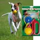 Karlie Dog Toy Flying Star Plus - 2 Balls  6cm + Grip