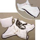 Creamy Cat Blanket - 60 x 40 cm (L x W)
