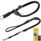Hunter Round & Soft Set: Lead & Collar - Collar Size: max. 55 cm,  10mm - Dog Leads & Collars