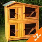 Outback Two-Story Apartment Hutch - 118 x 70 x 130 cm (LxWxH)