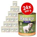 Rocco Junior Value Pack 24 x 800 g - Mixed pack