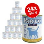 Rocco Sensible Value Pack 24 x 800 g - Chicken & Potatoes