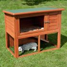 Outback Classic Hutch with Run - Classic Outdoor Run Extension - 4 sided