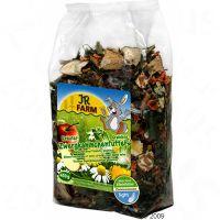 JR Farm Kruiden dwergkonijnenvoer Grainless - - 450 g