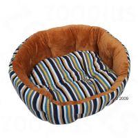 Kattenbed Cozy Stripes - - L 55 x B 45 x H 20 cm