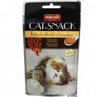Animonda kattensnack kip & lijnzaad - - 3 x 50 g