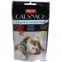 Animonda kattensnack kip & groenlipmossel - - 3 x 50 g