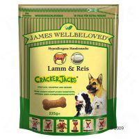 James Wellbeloved Cracker Jacks 225 g - - Lam & Rijst