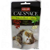 Animonda kattensnack kip & munt - - 3 x 50 g