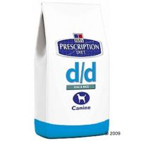 Hill´s Prescription Diet Canine - D/D Eend + Rijst - - 1