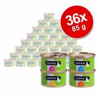 Voordeelpakket Cosma Original in jelly 36 x 85 g - - Gem