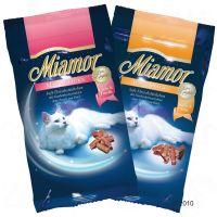 Miamor Cat Confect Mini-Sticks - - 3 x zalm & forel
