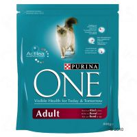 Purina ONE Adult Rind & Vollkorngetreide - 800 g