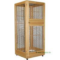 Vogelvolière Paradiso - - gestel hout, tralies anthracie