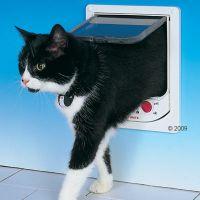 Trixie kattenluik Cat Mate met automatische afsluiting -