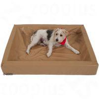 De hygiënische hondenmand, sahara - - L 120 x B 100 cm