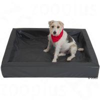 De hygiënische hondenmand, graniet - - L 120 x B 100 cm