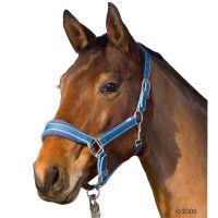 Paardenhalster Soft voor paarden - - Warmbloed, marine