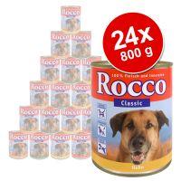 Smulpakket Rocco Classic 24 x 800 g - - Kip