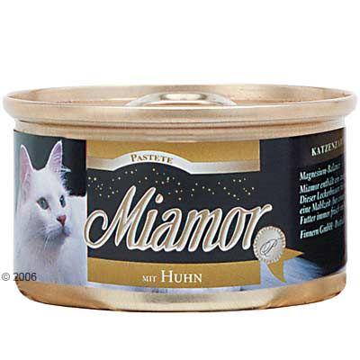 Boîtes pour chat Miamor 12 x 85 g- volaille & foie