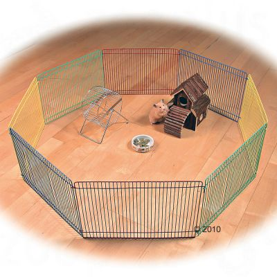 Trixie Joy Small Pet Indoor Run - 8 Sided - 8 Elements, each 34 x 23 cm