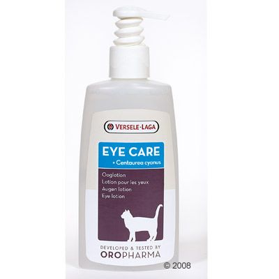 Lotion oculaire pour chat Versele Eye Care- 150 mL