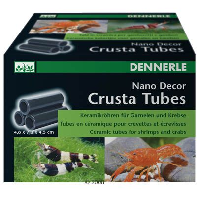 Dennerle Nano Decor Crusta Tubes - 3 Tubes Small - S3