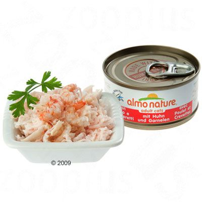 Almo Nature Adult 6 x 70 g - Tuna & Clams