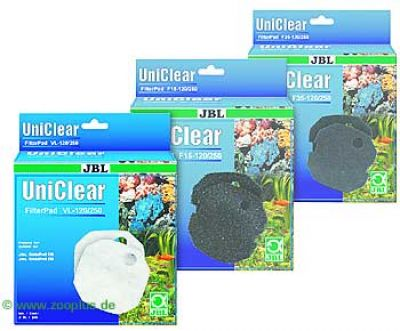 Filter Pads - for JBL Cristal Pro 120/250 Multipack - 3 x filter pad VL (120/250)