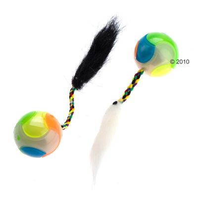Day & Night Cat Ball Toy - 2 items