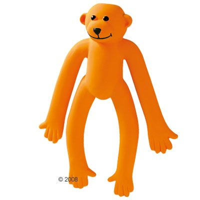 Orange Monkey Dog Toy - approx. 42cm (Size L)