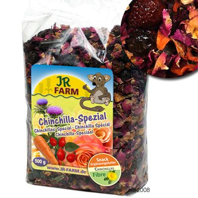 Chinchilla Spécial JR Farm- 3 x 500 g