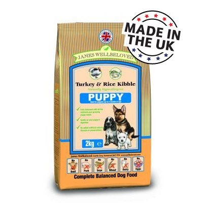 James Wellbeloved Complete Puppy Turkey & Rice - Economy pack: 2 x 15 kg