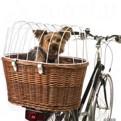 Bicycle Basket with Protective Wire (Luggage Rack Mount) Protective Basket Cov