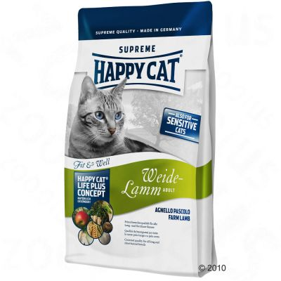 Happy Cat Fit & Well Adult Weide-Lamm - 10 kg
