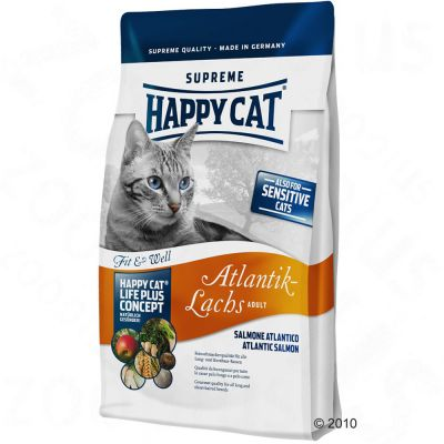 Happy Cat Fit & Well Adult Atlantik-Lachs - 1 kg