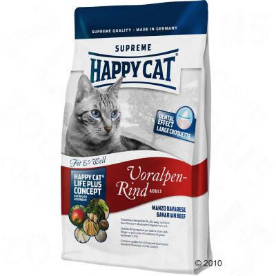 Happy Cat Supreme Adult Beef - Economy Pack: 2 x 10 kg