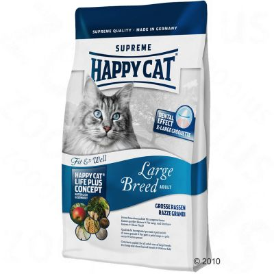 Happy Cat Fit & Well Adult Large Breed - 4 kg