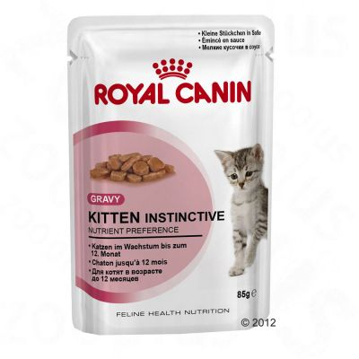 Royal Canin Kitten Instinctive with Gravy - Saver Pack: 24 x 85g