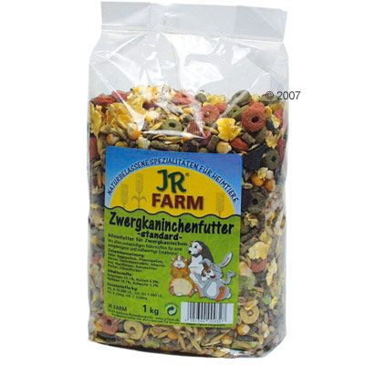 JR Farm Dwarf Rabbit Food Classic - Economy Pack: 3 x 3 kg