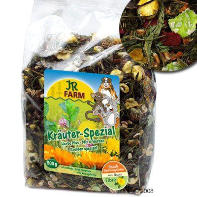 JR Farm Special Herbes pour rongeur et lapin - 3 x 500 g